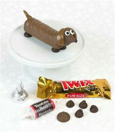 How to make chocolate dogs