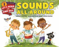 Sounds are all around us. Clap your hands, snap your fingers: You're making sounds. Read and find out how people and animals use different kinds of sounds to communicate. With colorful illustrations from Anna Chernyshova and engaging text from Wendy Pfeffer, Sounds All Around is a fascinating look into how sound works!