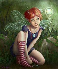 Elfes , Fées et fantaisie. # 4480