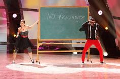 """Top 20 contestants Eliana Girard and Cyrus Spencer perform a Broadway routine to """"Run And Tell That"""" choreographed by Tyce Diorio on SO YOU THINK YOU CAN DANCE."""