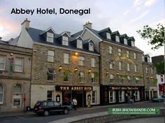 The Abbey Hotel, The Diamond, Donegal Town.