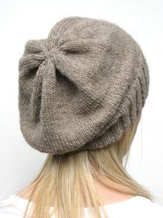Knitting: DK Eco Slouchy Hat Knitting Pattern http://www.craftsy.com/project/view/dk-eco-slouchy-hat-knitting-pattern/50433