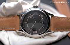 SIHH 2016: Hands-On with the Laurent Ferrier Galet Traveller Boreal in Stainless Steel   Watches By SJX