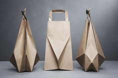 Origami Fold Paper Bags