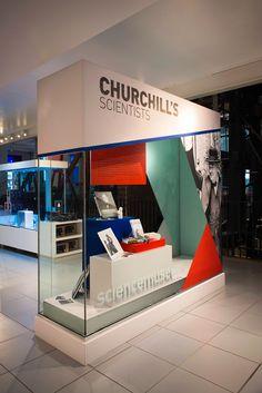 SCIENCE MUSEUM, London | Churchill's Scientists Showcases, 2015 by Millington Associates