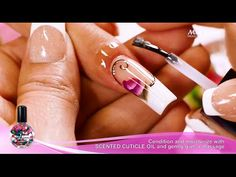 French Nail Art | Mia Secret - YouTube