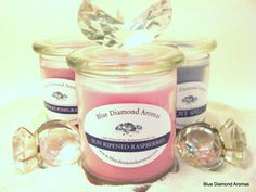 12 oz Wood Wick All Natural Soy Candle by BlueDiamondAromas on Etsy, $12.00