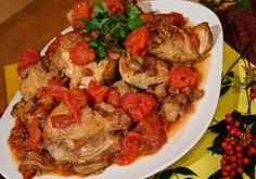 Beginner's Chicken Cacciatore for Slow Cooker - Preparation time:10 minutes  Slow Cooker Size4L+  Serves:6  Cooking time:Low 5-6 hours