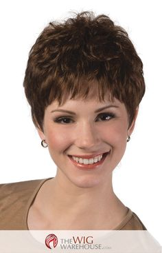 The classic pixie cut is a style that will always be in vogue, for a range of ages. Whether you are a trendy teen or a chic retiree, you'll find appeal in the saucy Jamie wig. The soft layers work bea