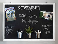 s 8 more things you didn t know you could do with cork, crafts, wall decor, Chalkboard Cork Board in One