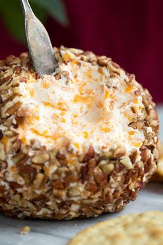 The BEST Cheese Ball recipe! Perfectly seasoned and so easy to make! Perfect for the holidays and parties. A classic that everyone always loves! Best Cheese Ball Recipe, Cheese Ball Recipes, Appetizer Recipes, Snack Recipes, Cooking Recipes, Snacks, Party Appetizers, Hawaiian Cheese Ball Recipe, Dip Recipes