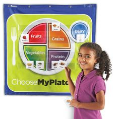 Build a healthy MyPlate—just choose from the right food groups