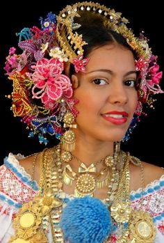 Image result for traditional panamanian jewelry