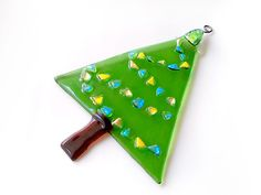 Christmas Tree Suncatcher or large Ornament