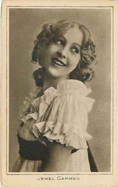 Silent film actress Jewel Carmen
