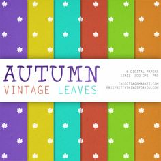 If you are looking for some more Free Autumn Digital Scrapbooking Paper Packs you are in the right place today! Here is Part Two...Leaves and Stripes!!!!!!