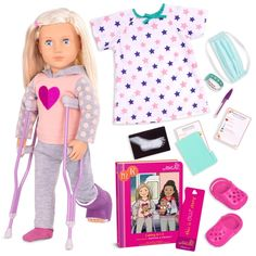 Anerican Girl, Our Generation Doll Accessories, Poupées Our Generation, Og Dolls, Baby Dolls For Kids, Doll Videos, Boys Summer Outfits, Toys Uk, Baby Alive