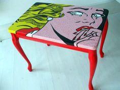 Roy Lichtenstein - Table