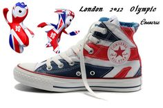 Converse Shoes | London 2012 Olympic converse shoes Chuck Taylor