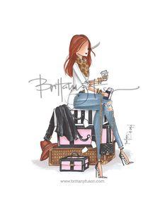 Brittany Fuson // Departures www.brittanyfuson.com