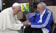 Πάπας Φραγκίσκος Φιντέλ Κάστρο
