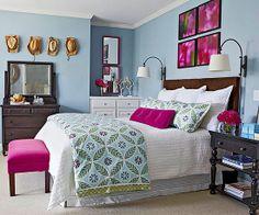 Happy bedroom
