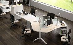 Real estate reception desk real estate office office for Mobiliario de oficina bilbao
