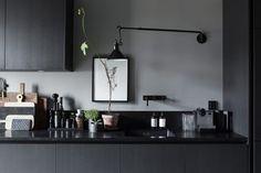Grey Kitchen - Lotta Agatons home for sale - from Trendenser interior blog
