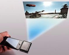 i20 Pico Projector For iPhone / http://thegadgetflow.com/portfolio/i20-pico-projector-for-iphone/