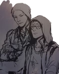 RNa (inFAMOUS:Second Son) Sketch / drawing :)