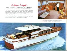 1960 Chris Craft Cruisers and Yachts Catalog