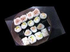 recette facile pour realiser des sushi - YouTube