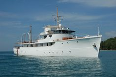 136-foot CALISTO, 1944 Astoria Marine Construction Motor Yacht