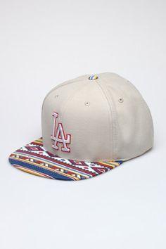 American Needle LA Dodgers Tribal Hat New Era Fitted 04e9cf78a