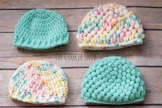 Preemie Hats Free Crochet Patterns