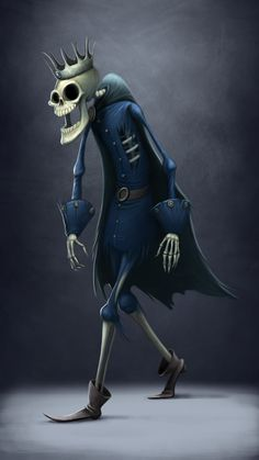 Halloween characters on Behance