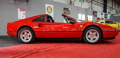 Ferrari 328 GTS More Ferrari 328, Ferrari World, Vintage Racing, Manual Transmission, Dream Garage, Automotive Design, Amazing Cars, Toys For Boys, Hot Cars