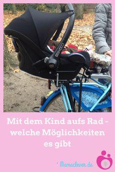 Was ist die sicherste Variante, um mit Babys oder Kleinkindern Rad zu fahren? Welche Möglichkeiten gibt es, das Baby mit dem Rad mitzunehmen? Und ab welchem Alter sind sie geeignet?