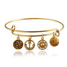 New Arrive Women's Leaf Love Hamsa Fatima Hand Charm Pendant Alloy Bangle Cuff Bracelet  8A4U♦️ B E S T Online Marketplace - SaleVenue ♦️👉🏿 http://www.salevenue.co.uk/products/new-arrive-womens-leaf-love-hamsa-fatima-hand-charm-pendant-alloy-bangle-cuff-bracelet-8a4u/ US $0.80