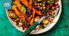 Tärkeitä asioita kasvisten paahtamisessa ovat oikea lämpötila, öljy sekä suola. Garam Masala, Kung Pao Chicken, Pot Roast, Ethnic Recipes, Foods, Carne Asada, Food Food, Roast Beef, Food Items