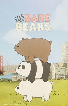 We Bare Bears We Bare Bears Wallpapers, Cute Wallpapers, Bear Wallpaper, Iphone Wallpaper, We Bear, Cute Bears, Love Images, Panda Bear, Cartoon Network