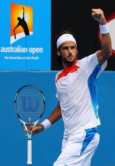 Feliciano Lopez - 2012 Australian Open - Day 5