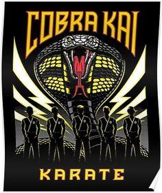 4 color silkscreen print on black x 24 inchessigned and numbered edition of by The Karate Kid Karate Kid Movie, Karate Kid Cobra Kai, Posters Geek, Movie Posters, Cobra Kai Wallpaper, Wolf Wallpaper, Kai Arts, William Zabka, Cobra Kai Dojo