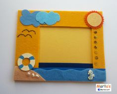 felt fridge magnet for pictures