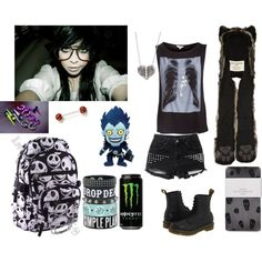 """Serychu Zombie"" by emogirl2013 on Polyvore"