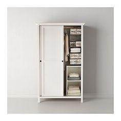 HEMNES Garderobekast 2 schuifdeuren - witgebeitst - IKEA  € 299,-