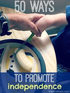 50 Ways To Promote Baby and Toddler Independence — CanDo Kiddo Parenting tips and ideas for promoting independence in your baby and toddler PLUS why it's important for early childhood development. Parenting Toddlers, Kids And Parenting, Parenting Hacks, Parenting Classes, Parenting Styles, Parenting Quotes, Parenting Ideas, Autism Parenting, Foster Parenting