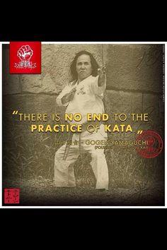 Katas never end. Aikido, Kendo, Isshin Ryu, Karate Kata, Goju Ryu, Tang Soo Do, Kyokushin Karate, Karate Training, Chinese Martial Arts