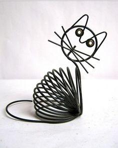 wire black cat.Craft ideas 5267 - LC.Pandahall.com