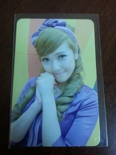 JESSICA Girl's Generation Official Photocard Photo Card 3rd Mini HOOT SNSD #2